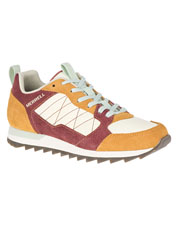 Throwback Alpine Sneakers by Merrell are gripping—both in color palette and slip-free traction.