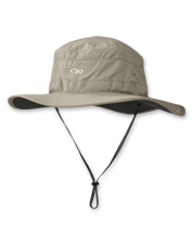 Glare, heat, wind, rain, UV rays: The Solar Roller Sun Hat by Outdoor Research tackles it all.