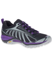 Siren Edge 3 Hikers by Merrell are breathable, grippy, and cushioned for comfort on the trail.