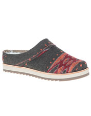 Juno Wool Clogs by Merrell are an everyday casual option for supportive, cushioned comfort.