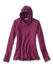 Our Performance Knit Hoodie boasts all the softness and comfort you want on casual days.