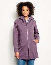 Our thoughtfully designed Women's Ultralight City Jacket is waterproof and travel-friendly.