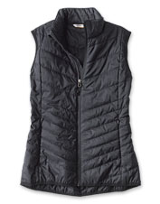 Enjoy the warmth of PrimaLoft in an eco-friendly style wearing our Drift Vest for women.