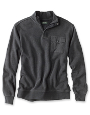 Ultra-Ragg comfort means this quarter-zip sweatshirt is easy to put on, and so hard to take off.
