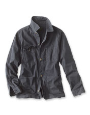 The rugged Bedford Cord Chore Jacket is equally at home at the barn or in town.