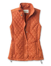 Our breathable, multi-season Weekender Quilted Vest is the one you'll keep by the back door.