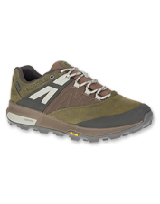 Leather Zion Waterproof Shoes by Merrell offer impressive grip and performance engineering.