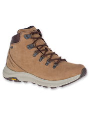 This version of the Ontario Mid Shoe by Merrell is waterproof, breathable, and trail-ready.