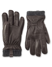 Don't settle for ordinary leather gloves: Our sheepskin and PrimaLoft version are exceptional.
