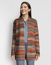 Our Western-inspired Canyon Lands striped wool cardigan is a seasons-spanning layer to love.