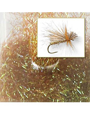 Entice more strikes with the bright sparkle of this fly-tying dubbing material. Made in USA.