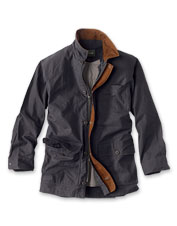 A ripstop outer and insulated liner make this barn coat a seasons-spanning workhorse.