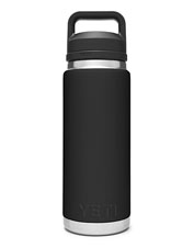 The 26-oz. YETI Rambler bottle reliably keeps your favorite beverage hot or cold.