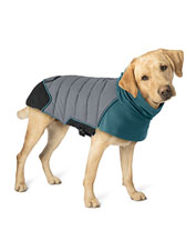 Keep your pet safe and cozy in the reflective, insulated Tail Light Puffer Dog Jacket.