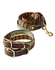 Whisky Leatherworks uses artwork to elevate the dog collar from ordinary to exceptional.