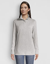 Our eco-friendly Sweater Fleece Tunic is all about indulgent comfort and just-right warmth.