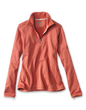 Our fleece Horseshoe Hills Quarter-Zip is the one you'll keep by the back door.