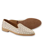 These Merida Loafers by Pikolinos feature perforated details across hand-burnished leather.