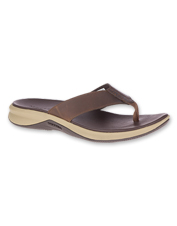 These Tideriser Leather Luna Post Sandals by Merrell offer casual comfort and grippy traction.