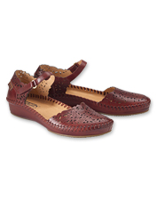 P. Vallarta Sandals by Pikolinos are tanned to perfection and stitched by hand for comfort.
