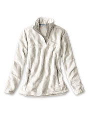 The Mesa Fleece Quarter-Snap is a plush layer that keeps the chill away, indoors or out.