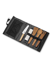 Count on these utensil sets when cooking over a campfire or prepping for a BBQ feast.