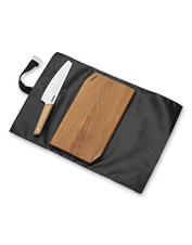 Chop, slice, and dice your BBQ favorites with this cutting set designed for outdoor meal prep.