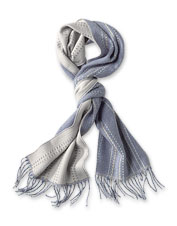 Winning style meets supreme softness in our versatile double-knit Homecoming Stripe Scarf.