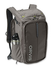 The nimble Orvis Bug-Out Backpack does your bidding as a carry-on or fly-fishing bag.