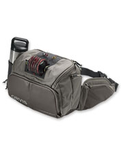 Keep your fly-fishing tools tidy and enjoy unobstructed casting with the Orvis Guide Hip Pack.