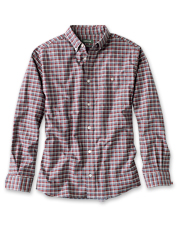 Look sharp and stay comfortable on your journeys in the Oxford Stretch Shirt.