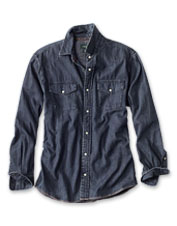 Our reimagining of the denim shirt, this Great Bend Washed Indigo version improves with wear.
