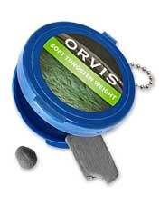 Calibrate for the cast you want with Orvis Soft Tungsten fly-fishing weight.
