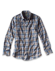 Enjoy the no-iron ease and stain resistance of our Wrinkle-Free Stretch Long-Sleeved Shirt.