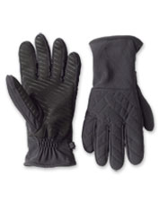 These warm Quilted Nylon Gloves are water-resistant and touchscreen compatible.