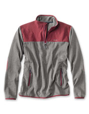 An excellent sweatshirt, improved—we added welcome stretch to our versatile Quarter-Zip Hybrid.