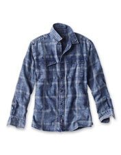 You'll love the softness and easy Active Fit of our Washed Plaid Shirt.