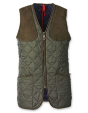 Soft, lightweight, and rugged, the Women's Quilted Shooting Vest gets the job done in style.
