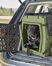 Keep your companion safe with the tough, reliable Orvis X Orion Bird Dog Crate.