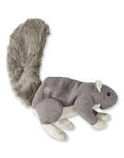 The Big Fella Squirrel Dog Toy brings oversized fun to the back yard or living room.