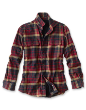 You'll want to see firsthand how our fleece-lined flannel shirt earned its 'perfect' moniker.