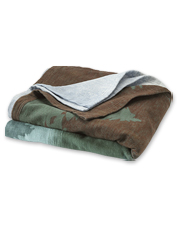 Organic Cotton Mountain Throw