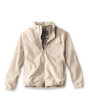 The Barbour Emble looks like a classic lightweight jacket—but this one is waterproof, too.