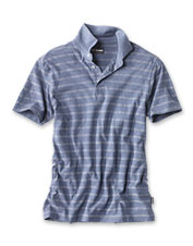 The Barbour Blyth Striped Polo offers sophisticated style and a maximum of comfort.