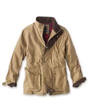 The River Road Jacket is ready to repel foul weather season after season.