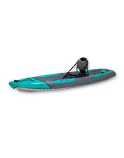 The Outcast 1K Angler 11' fishing kayak is the answer for simple casting and easy transport.