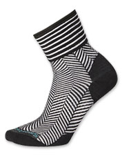 These herringbone socks from SmartWool are perfect to pair with your favorite ankle boots.