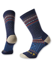 Smartwool partners with CHUP to create these comfortable, whimsical Snowflake Volt Crew Socks.