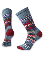 These artful crew Socks from Smartwool and CHUP keep toes warm and dry in a merino wool blend.