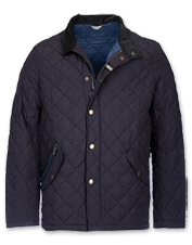 The quilted Shoveler from Barbour is the jacket you'll keep in rotation across the seasons.